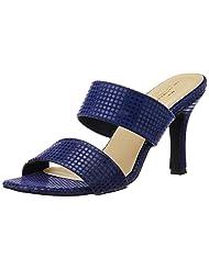 The Trunk Label Women's Latifa Heel Slippers