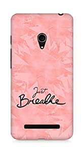 AMEZ just breathe Back Cover For Asus Zenfone 5