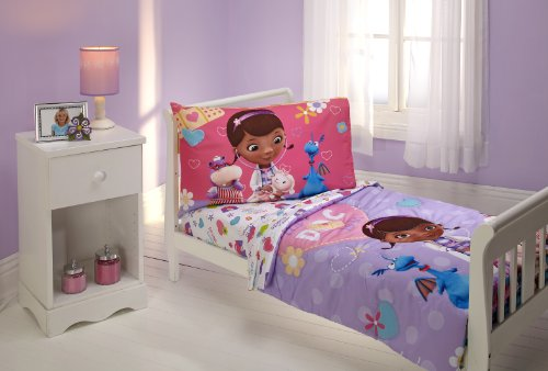 Disney 4 Piece Toddler Set, Doc Mcstuffins - 1