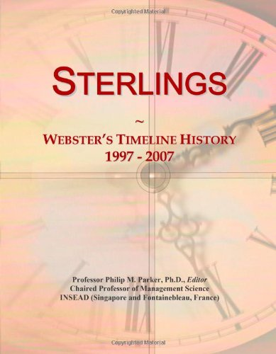 Sterlings: Webster'S Timeline History, 1997 - 2007