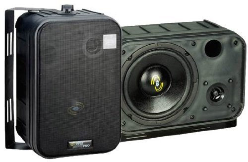 Pyle Home Pdmn58 6.5-Inch 2-Way Bass Reflex Mini-Monitor System