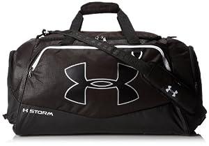 Under Armour Undeniable Storm - Bolsa de deportes y viaje (tamaño mediano, repele el agua) negro Noir (Black) Talla:mediano