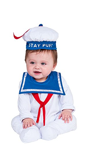 Hallo (Stay Puft Marshmallow Baby Costume)