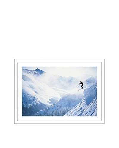 Getty Images Skier Leaping From Ledge, Taos Ski Valley, New Mexico, USA