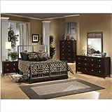 Tiburon Cali Bedroom Set Size: Full