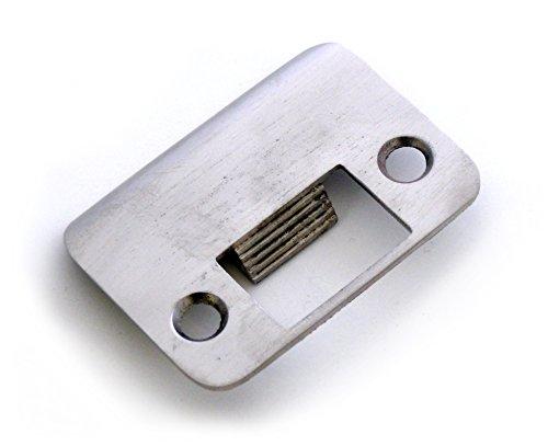 Nickel Door Tite Ratchet Style Door Strike Plate Hardware | Draft Stopping Automatic Tightening