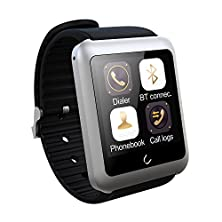 buy Yamay® Universal Bluetooth Smartwatch U11 Oled One Touch Screen Fitenss Wrist Smart Watch Phone With Sim Card Running Sport Tracker Pedometer For Android & Ios Samsung Iphone Cellphone Men Women