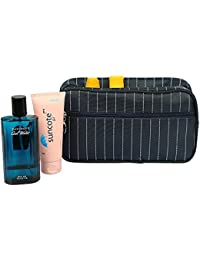 Inovera Travel Portable Cosmetics MakeUp Bag Unisex Toiletry Kits (Blue)