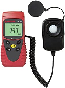 Amprobe LM-100 Light Meter, Silicon Photodiode and Filter