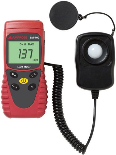 Amprobe LM-100 Light Meter with Silicon Photodiode and Filter (Hydrogen Pressure Gauge compare prices)