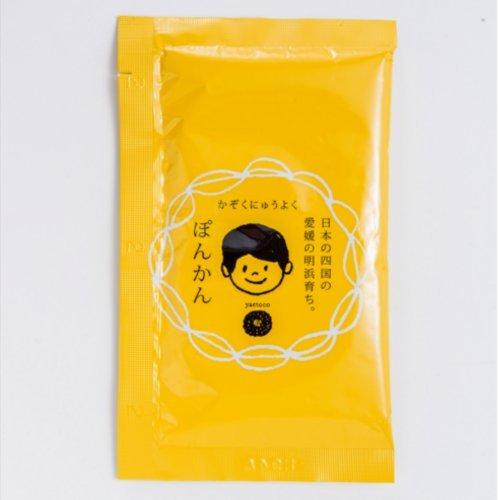 yaetoco 家族入浴料 ぽんかん 50g