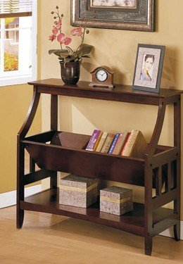 Cheap Dark Espresso Brown Wood Console Sofa Entry Table (B002ADHP44)