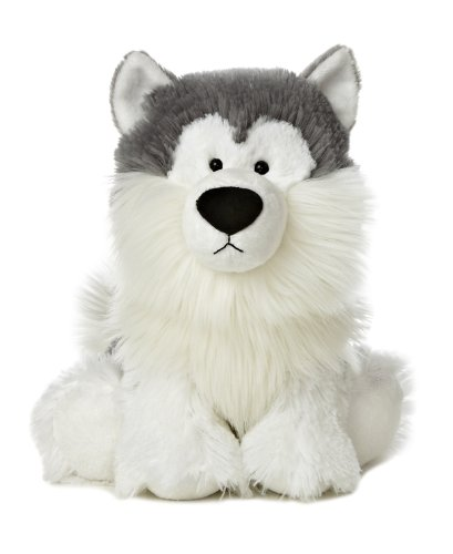 "Aurora World Wuff & Friends Nanuk Malamute Plush, 10"" Tall"
