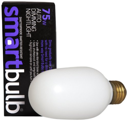 Smart Electric 300 75-Watt Incandescent Dimming Night Light Smart Dimmer Bulb With Standard Base Socket, Shatter Resistant, Soft White front-740339