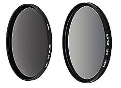 Kenko 67mm ND8 & CPL Filter