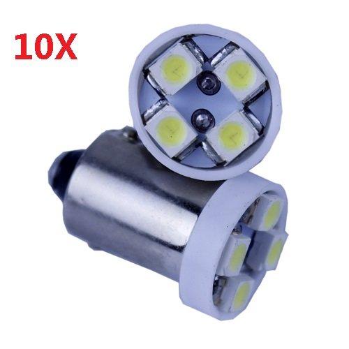 Coffled® 10X T11 1W Sa9B White Light 3528 Smd 4 Led Car Side Wedge Bulb Lamp Waterproof