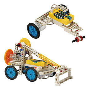 Build 10 remote control models <i>embracing a</i> nother bulldozer and a three-wheeler
