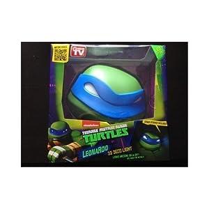 3d Wall Light Toys R Us : 3D Deco Light ~~ Teenage Mutant Ninja Turtles / LEONARDO ~~ Looks like Leonardo the Turtle has ...