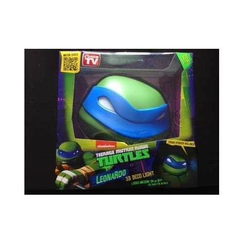 Teenage Mutant Ninja Turtles 3D Deco Light Leonardo