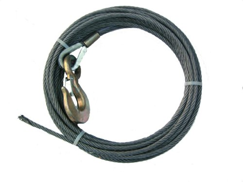 BA Products 4-38SC100 Winch Cable, 3/8
