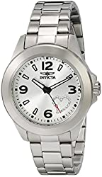 """Invicta Women's 17932 """"Angel"""" Stainless Steel Watch with White Crystal Heart on Dial"""
