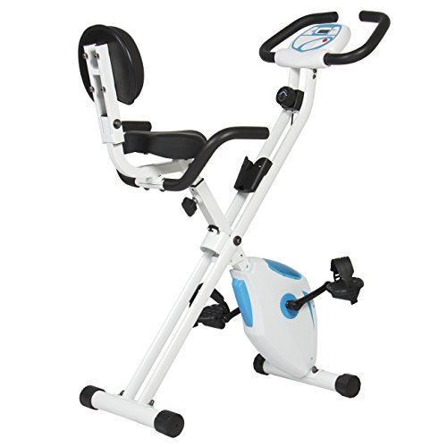 Best Choice Products Magnetic Folding Recumbent Exercise Bike With Digital Display