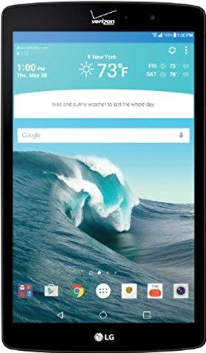 LG G Pad 4G LTE Tablet, Black x8.3-Inch 16GB (Verizon Wireless VK815) (4g Windows Tablet compare prices)