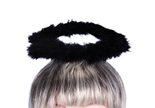Black Angel Halo Halloween Costumes Accessories Adult