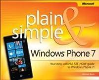 Windows Phone 7 Plain & Simple Front Cover