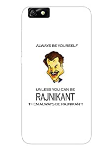 Rajnikant - Bollywood Dialogue - Designer Printed Hard Back Shell Case Cover for Huawei Honor 4X Superior Matte Finish Huawei Honor 4X Cover Case