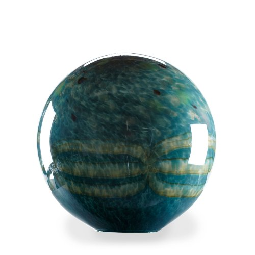 Small turquoise garden ball home decor lawn ornaments gazing globes