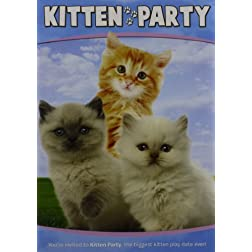 Animal Atlas: Kitten Party W/Puzzle