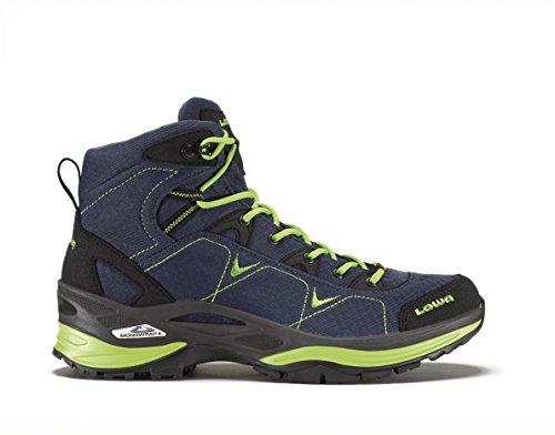 LOWA Ferrox GTX MID Women All Terrain Outdoor Schuhe jeans-limone - 39,5