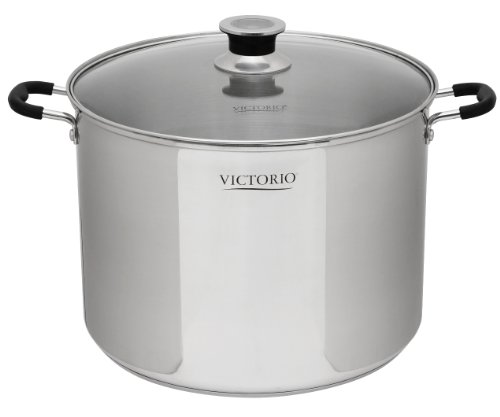 Stainless Steel Multi-Use Canner by VICTORIO VKP1130