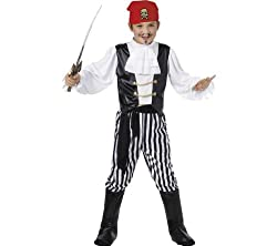 SMIFFY S Pirate Fancy Dress Costume - size: medium (6 / 8 years)