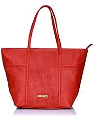 Caprese Women's Tote Bag (Deep Red)