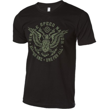 Buy Low Price Twin Six Single Speed Nation Short Sleeve T-Shirt (B004XLA4JE)