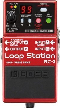 Boss RC-3 Loop Station Guitar & Bass Effects Pedal