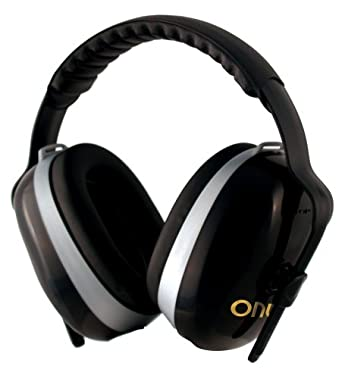 Jackson Safety H70 Onyx Headband Earmuff for Low Noise Environment, NRR 26