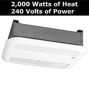 Powerful 2 000 Watt Bathroom Ceiling Heater Stelpro