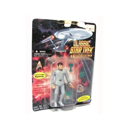 Star Trek The Motion Picture Commander Spock 4 inch Action Figure