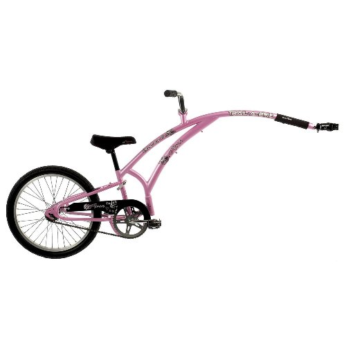 Adams Original Folder 1 Trail-A-Bike 20 Pink