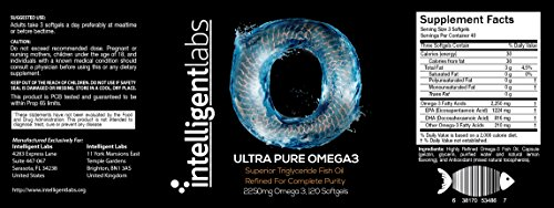 ? Strongest and Most Effective Omega 3 on Amazon!! ? 70% More Effective Than Other Omega 3 Fish Oils ? Be Stronger, Happier and Healthier Now! ? Pharmaceutical Grade Natural Triglyceride Fish Oil ? A Huge 2250mg Omega 3, 1224mg EPA and 816mg DHA Per Serving ? Love It or 100% Money Back Guarantee ?