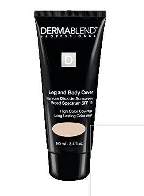 Dermablend Professional Leg and Body Cover, Medium 3.4 fl oz (100 ml)