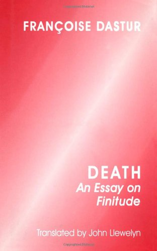 Death: An Essay on Finitude