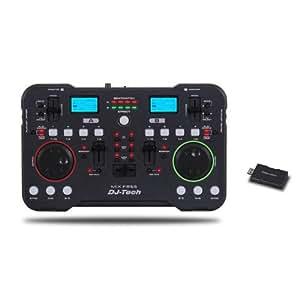 DJ-Tech Mix Free - Base de mezclas inalámbrico USB
