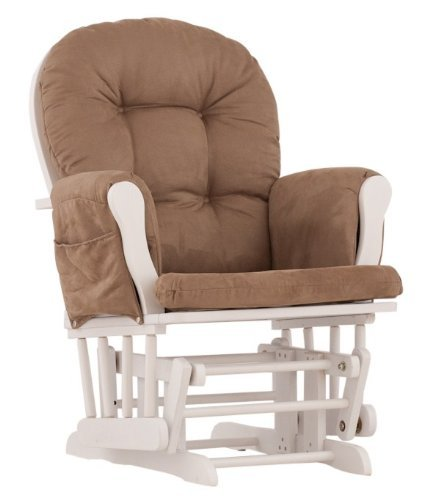 Storkcraft Glider White back-97122