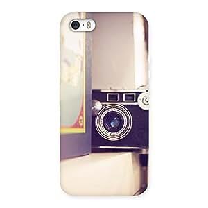 Impressive Pastel Camera Back Case Cover for iPhone SE