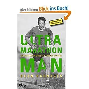 eBook Cover für  Ultramarathon Man Aus dem Leben eines 24 Stunden L auml ufers Aus dem Leben eines 24h L auml ufers