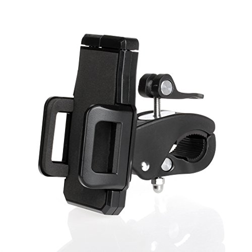Jazza Bicycle Mounts Cradle Holder Scaffold Rotate 360 Degrees Anti-Shock For Mobile Phone front-7556